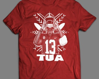 902a721fc Tua Tagovailoa College Football Inspired T-Shirt   High Quality T-Shirt  Many Colors   Sizes S-XXXXL
