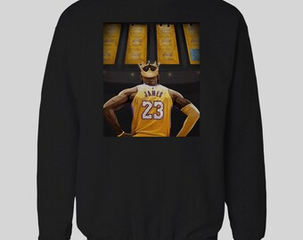 Champions Banners Lebron Basketball Inspired Lebron James Inspired Sweater    High Quality Hoodie many Sizes 19301bfde