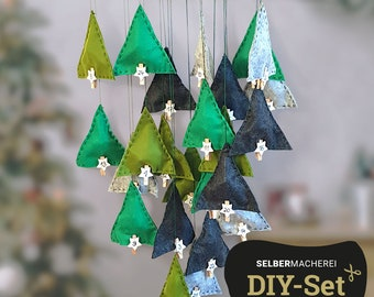 "DIY-Set Advent Calendar ""Tannenwald"""