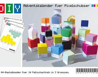 DIY-Adventskalender für Pixelschubser
