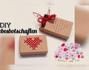 DIY Love Message