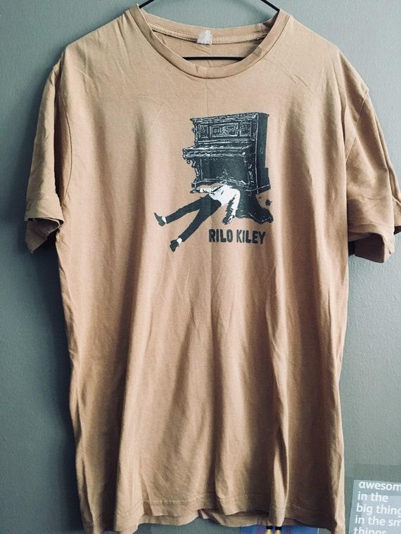 T-shirt vintage de bandes Rilo Kiley