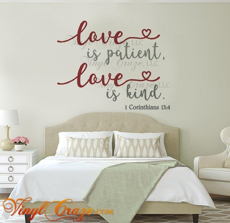 love is patient love is kind. Verse 1 Corinthians 13:4  image 0