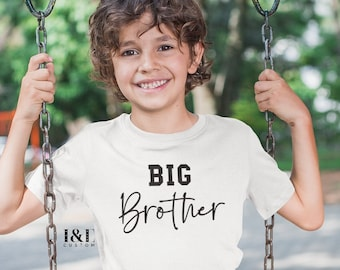 Big Brother T-Shirt   Big Bro T-Shirt   Pregnancy Announcement   I'm Going To Be A Big Brother   Big Brother Gift   Promoted To Big Brother