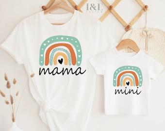 Matching Mother & Son Shirts   Matching Mama And Mama's Boy Outfits   New Mum Gift   Matching Mother And Son Shirts   Mum And Son Matching