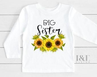 Big Sister Gift   Big Sister T-Shirt   Big Sister Announcement   Pregnancy Announcement Shirt  I'm Going To Be A Big Sister Announcement Tee