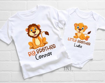 Big Brother Little Brother Matching Outfits   Gift for Brothers   Sibling Matching Shirts   Big Brother Little Brother Shirts   Matching