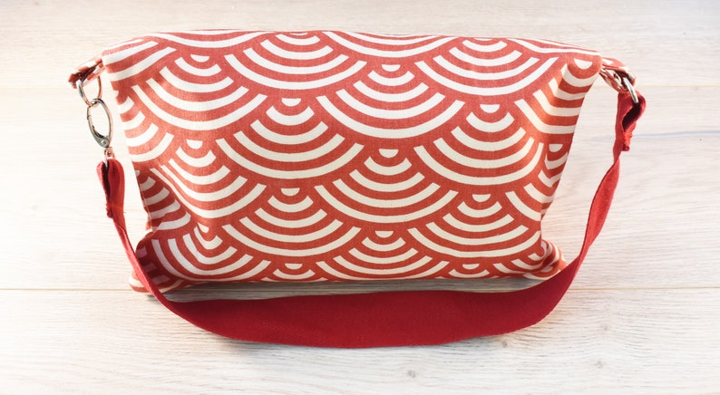 Nappy Wallet  Diaper Clutch  Wipes Holder  Diaper Bag  Nappy Bag  Baby Shower Gift  Nappy Purse  Diaper Purse  Red Clutch