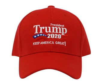 08902f4eafa Trump 2020 Keep America Great Campaign Embroidered Hat