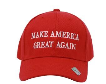 fd1108edad868 MAGA Trump Make America Great Again Campaign Embroidered Hat