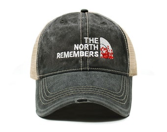 ca78713c Game of Thrones | The North Remembers | Dad Hat Cotton Baseball Cap Polo  Style Low Profile