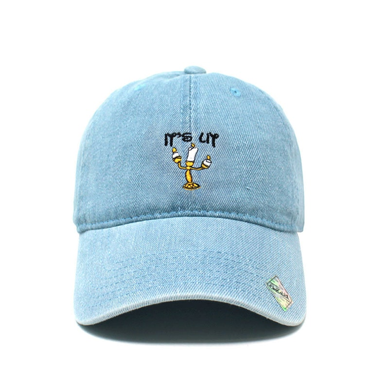 5a9cd68c It's Lit (Lamp) Dad Hat Cotton Baseball Cap Polo Style Low Profile 7 Colors