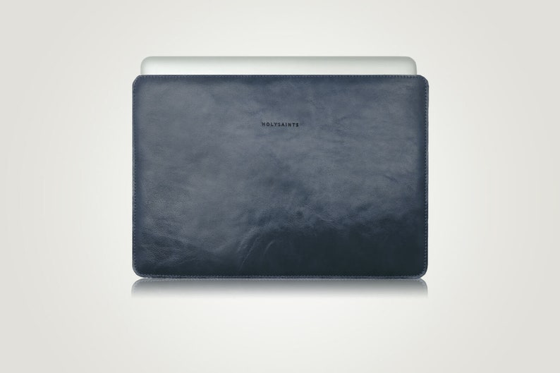 pretty nice 30de1 ea20b Laptop Sleeve Personalized Macbook Cover Leather Macbook Sleeve Mac Case  Macbook Retina Macbook Pro 15 inch Pro 13 inch Macbook 12 Case Blue
