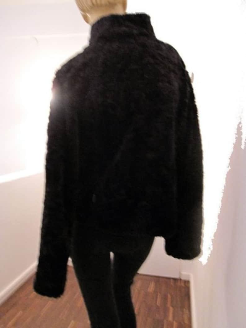 Vintage reversible jacket in black