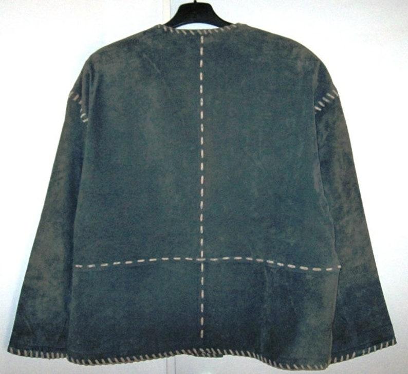 Leather jacket costume Jacket Size 42