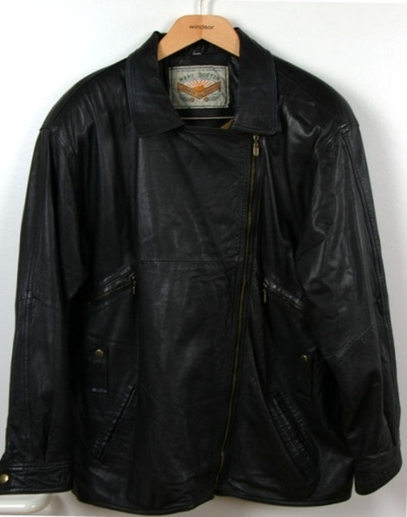 Vintage Biker Leather Jacket