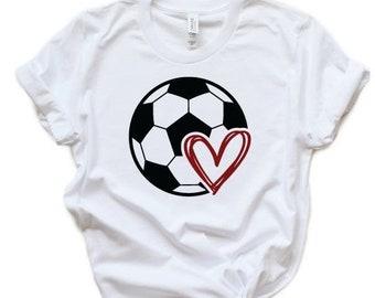 89f14e9a4 Soccer ball Tee- Women s Soccer ball Tee- Girls Soccer ball Shirt- Soccer  Tee- Soccer ball- Soccer