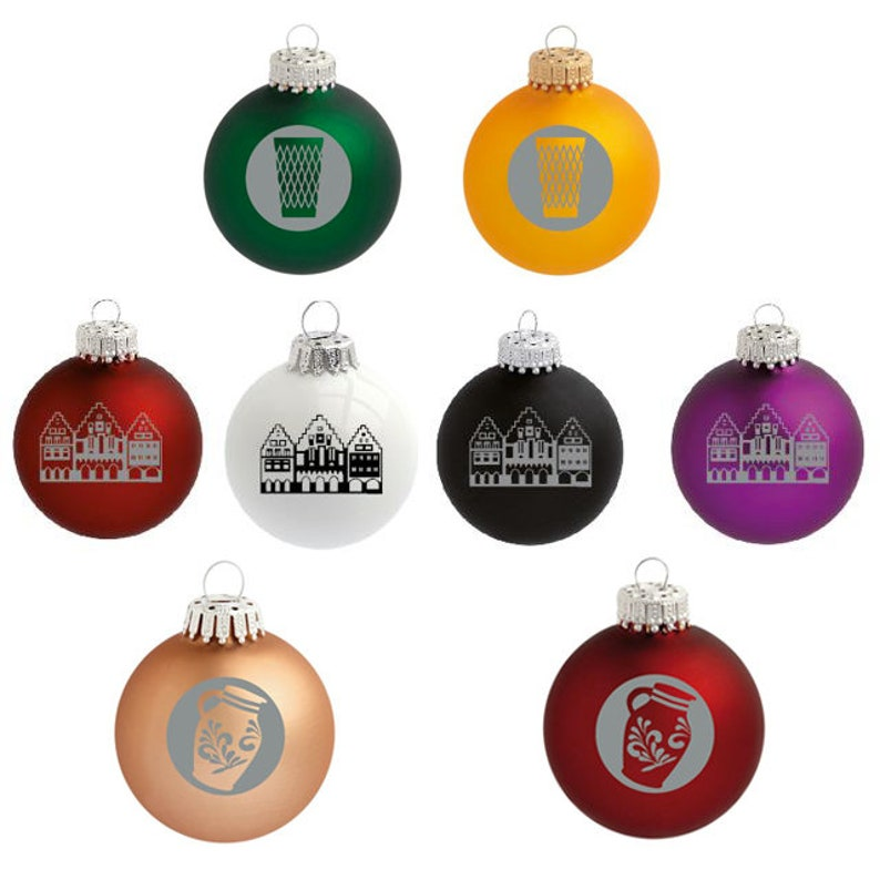 Bunte Christbaumkugeln Shop.German Christmas Balls Christmas Decoration Mixed Collection