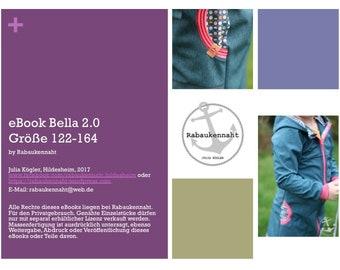 eBook Bella 2.0 Jacke Parka Zipfeljacke 122-164