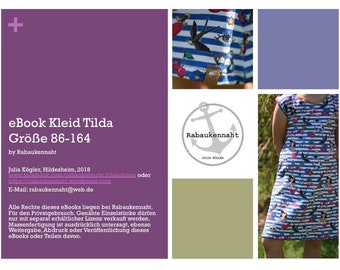 eBook Kleid Tilda 86-164