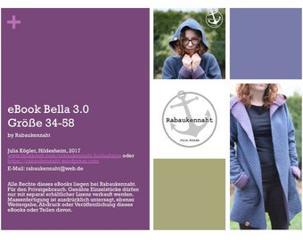 Kombi eBook Bella 2.0 122-164 und Bella 3.0 34-58