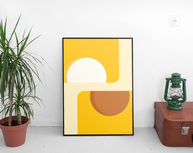 Suns of Marfa Art Print