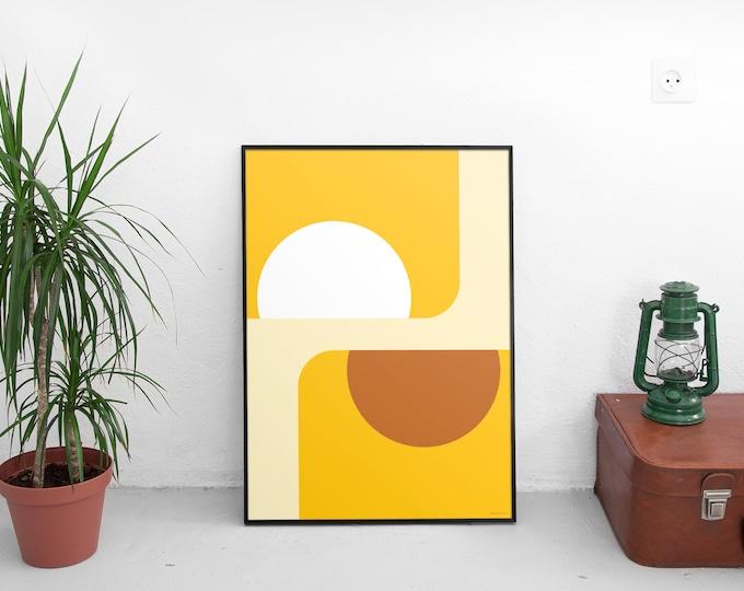 Suns of Marfa Art Print