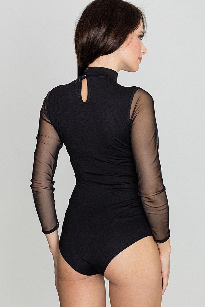 Bodysuit K394 Black