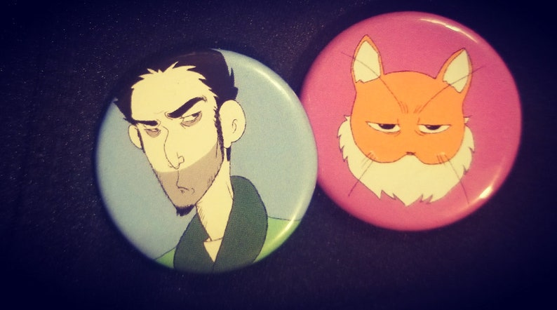 Seamus/Abbie Pin-Back Buttons image 0