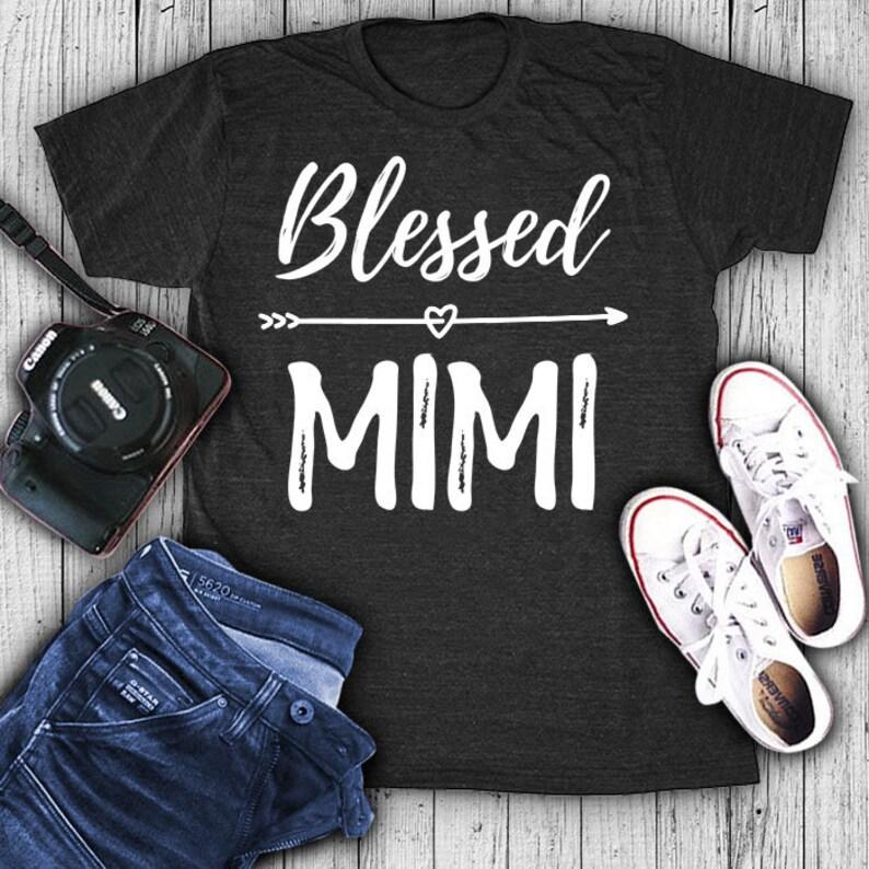 554c5b2e Blessed mimi shirt mimi shirt mimi t-shirt mimi t shirt | Etsy