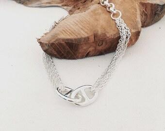 a70d1cd0b6d1 Bracelets chaînes et maillons   Etsy