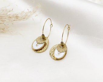 """Meli"" earrings"