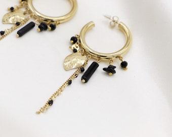 """""""Leaf"""" earrings"""
