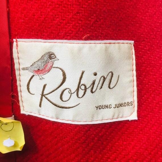 Vintage 40's ROBIN Soutache Stitching Penny Coat - image 6