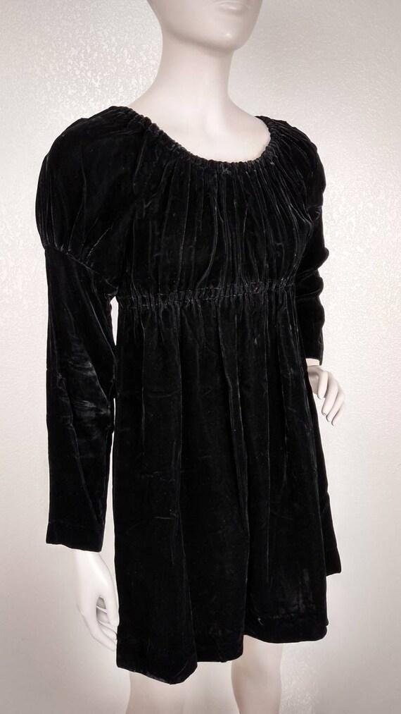 Vintage 60's Young Innocent by Arpeja Black Velvet