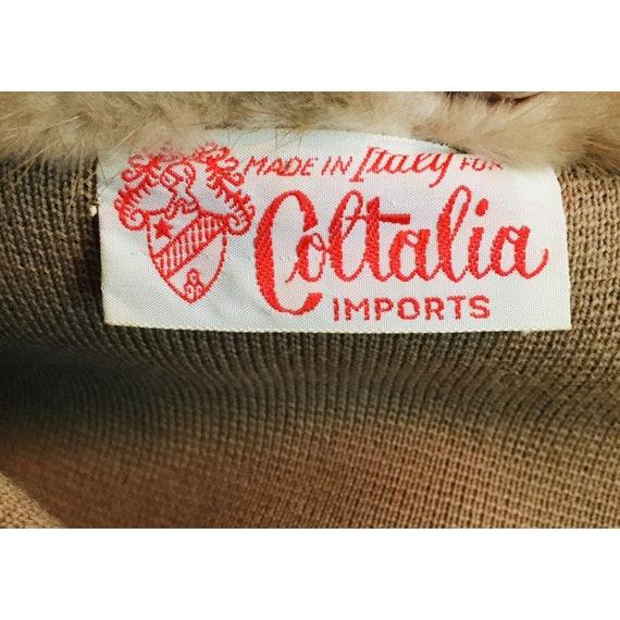 Vintage 1960's Coltalia Imports Brown Mink Collar… - image 6