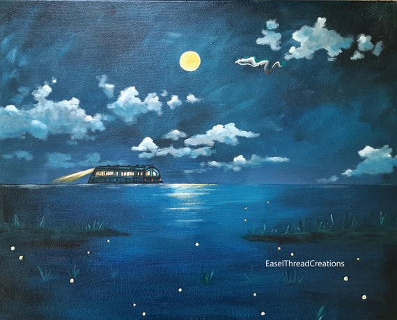 Spirited Away Painting Original Art Spirited Away Wall Art Etsy