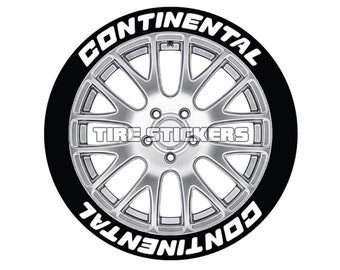 continental size etsy Lincoln Continental Mark II continental tire lettering for all wheel sizes 8 decal kit genuine usa made choose size and color