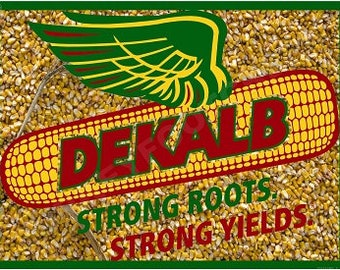 Vintage NOS Dekalb Seed Bumper Sticker