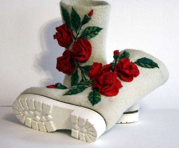 botte en feutrine / / / laine bottes / vegan / bottes en feutre / bottes bottines / bottes en feutre / Franck / valishi / bottes pour femmes en feutrine / burebureslippers / bottes d'hiver / | D'arrivée Nouvelle Arrivée  98854e