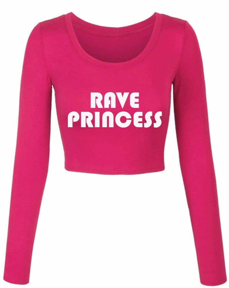 8debfc27abbb8 Rave Princess  Crop Top  Rave Princess Crop Top  Music