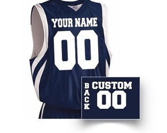 Basketball Jersey Etsy