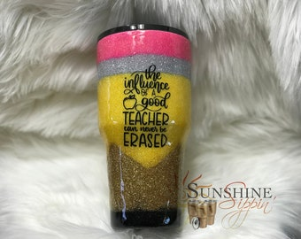 Teacher Tumbler Etsy