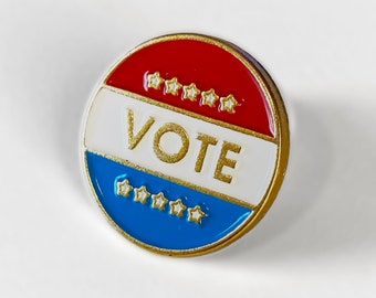 Pin back sold by each Vote 2020 Lapel pin VOTE-20201