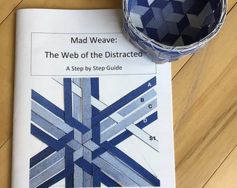 Digital Mad Weave Step by Step Quide, Basket Instruction Booklet