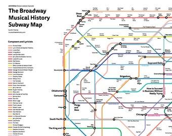 172 Norfolk St On Subway Map.Subway Map Etsy