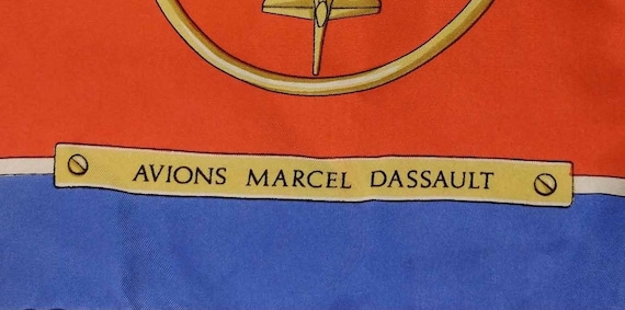 Vintage French Scarf, 1980s Silk Scarf, Vintage A… - image 7