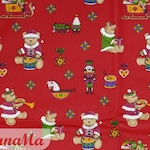 7.90 Euro/meter cotton fabric TEDDY fabrics Christmas gifts sewing decorative fabric for kids
