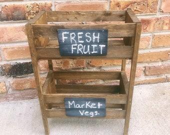 Chalkboard Fruit and Veggie Holder