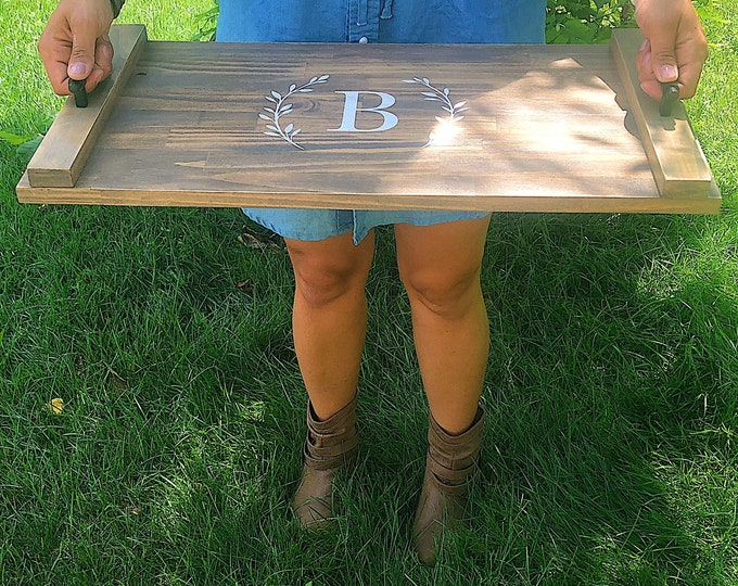 Rustic Custom Serving Tray